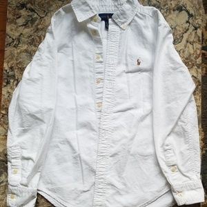 Polo by Ralph Lauren Shirts & Tops - RL Polo White Button Up